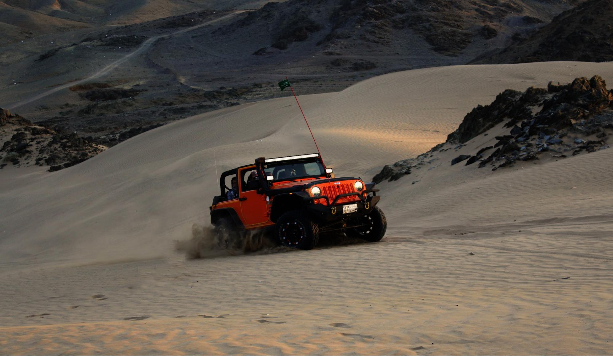 Using your car to get out in the wilderness